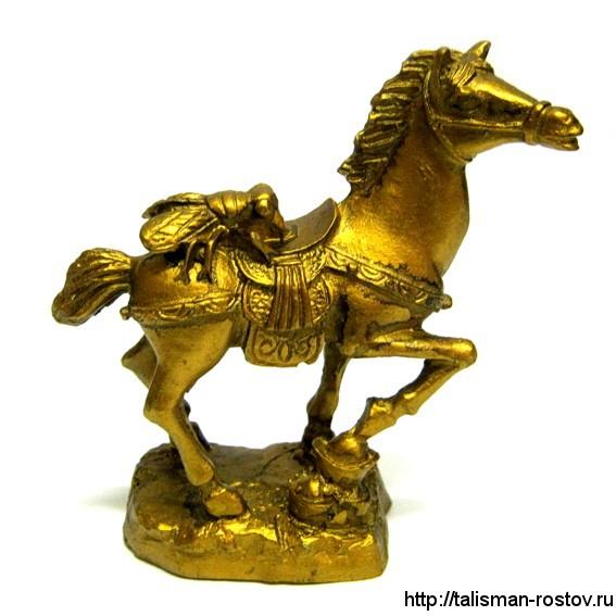 Лошадь с цикадой, статуэтка