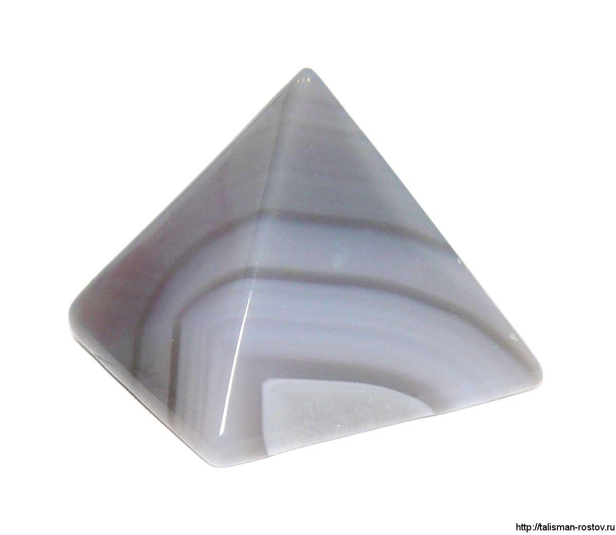 Пирамидка, агат