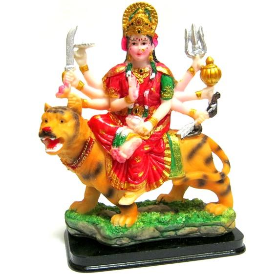 Статуэтка Дурга на тигре