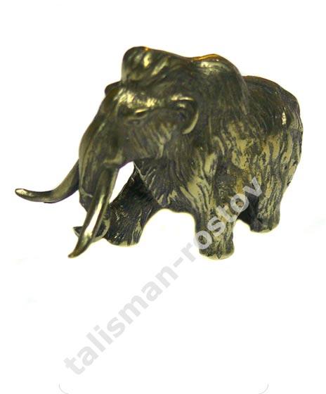 Мамонт, фигурка из бронзы