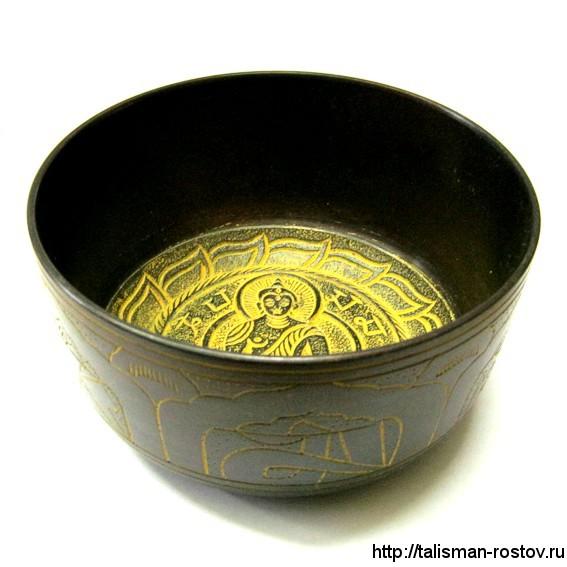 Тибетская чаша, широкая, 16 см