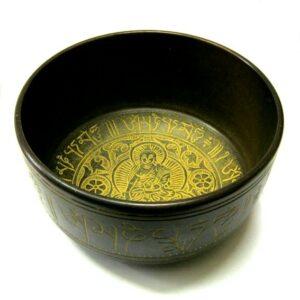 Тибетская чаша, широкая, 18 см